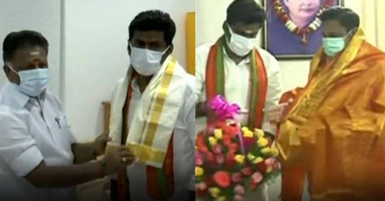 இ.பி.எஸ்-ஓ.பி.எஸ்-ஐ சந்தித்த பாஜக மாநிலத்தலைவர் அண்ணாமலை!