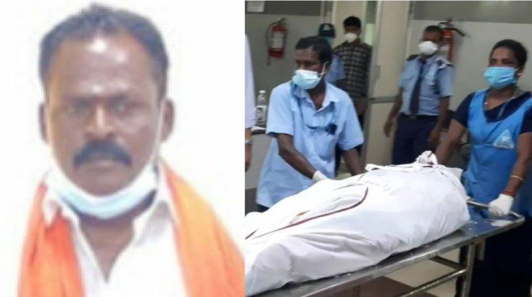 பாஜக மீனவரணி துணைத்தலைவர் வெட்டிக்கொலை...3 பேர் கொண்ட கும்பலுக்கு போலீசார் வலைவீச்சு...