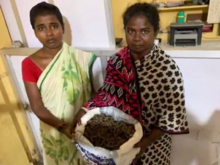 சட்ட விரோதமாக கஞ்சா விற்ற இரு பெண்கள் கைது