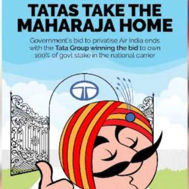 மீண்டும் மகாராஜாவை தன் வசப்படுத்திய டாடா..!  கடனில் இருந்து மீளுமா ஏர் இந்தியா..?